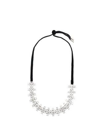 AREA crystal choker necklace - FARFETCH