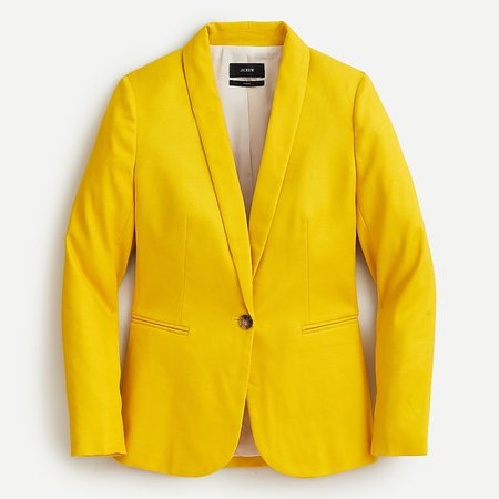 J.Crew: Parke Blazer In Stretch Linen For Women