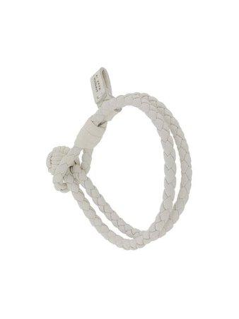 Bottega Veneta Intrecciato Weave Bracelet - Farfetch