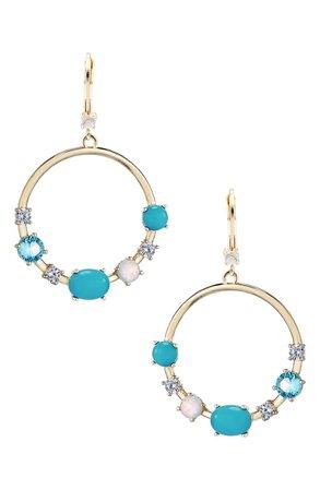 Nina Frontal Hoop Earrings | Nordstrom