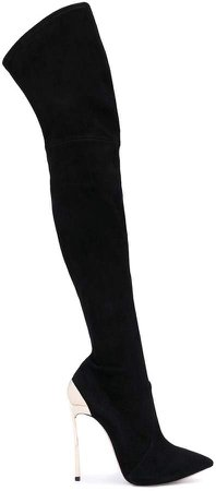 Techno Blade thigh-length boots