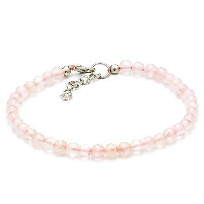 Rose Quartz Handmade Bracelet | Mystic Self LLC