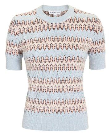 Blue Multi Sweater