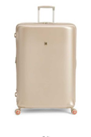 Champagne suitcase