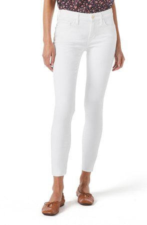 Le Low Ankle Skinny Jeans