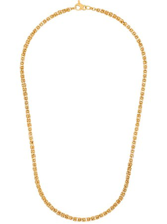 Hermina Athens gold-plated Sterling Silver Theodora Chain Necklace - Farfetch