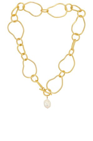 Cloverpost Foster Necklace in Yellow Gold | REVOLVE