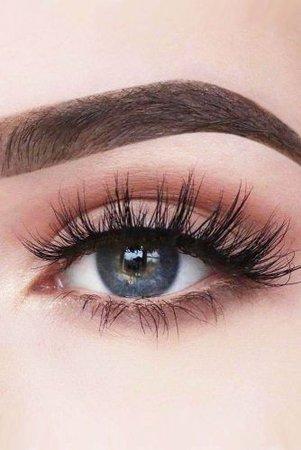 Natural Nude/Brown Eye Makeup