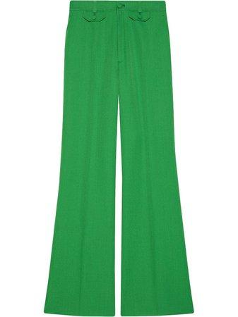 Gucci, Flared high-waist Trousers