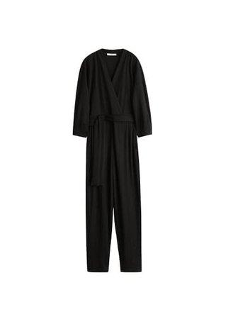 MANGO Bow long jumpsuit