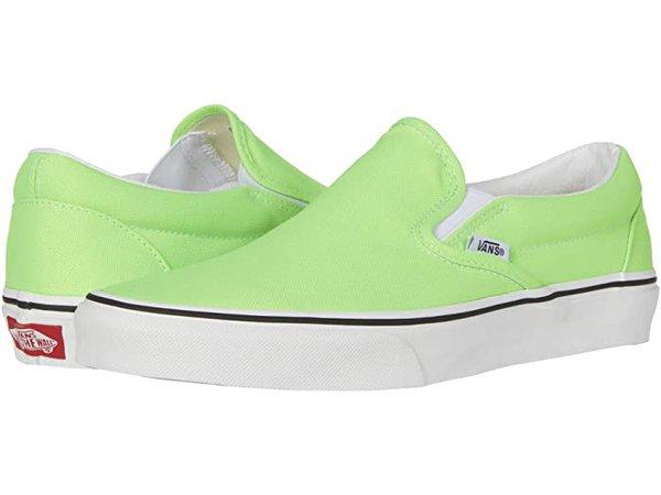 Vans Classic Slip-On™ green | Zappos.com