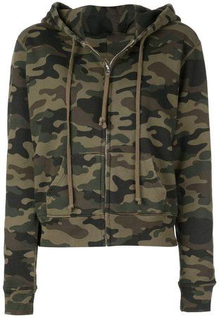 camouflage pattern hoodie