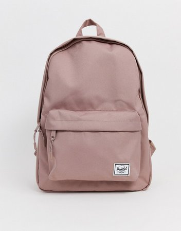 Herschel Supply Co Classic Light Mid Volume pink backpack | ASOS