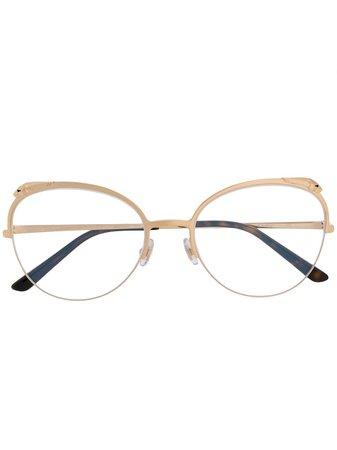 Cartier Eyewear Panthère De Cartier Glasses Continuity | Farfetch.Com