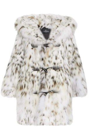 J. Mendel Hooded Fur Coat