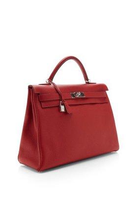 Vintage Hermes 40cm Retourne Kelly Bag By Hermes Vintage   Moda Operandi