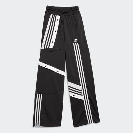 adidas DECONSTRUCTED TRACK PANTS - Black | adidas US
