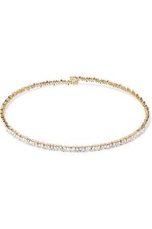 Suzanne Kalan | 18-karat gold diamond choker | NET-A-PORTER.COM