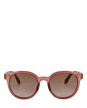 Gucci Oversized Cat Eye Sunglasses   INTERMIX®