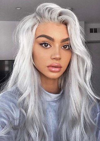 Platinum-Silver-Hair-Color-Ideas-to-Show-Off.jpg (564×793)