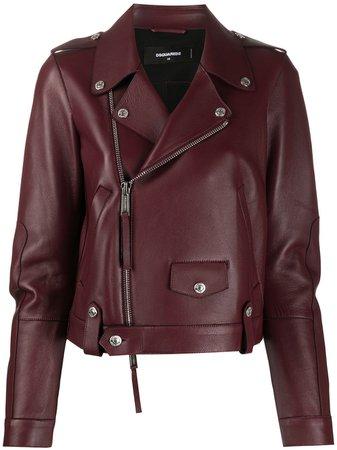 Dsquared2 zip-through Biker Jacket - Farfetch