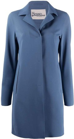 notched-lapel single breasted coat