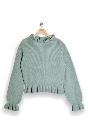 Topshop Frill Sweater | Nordstrom