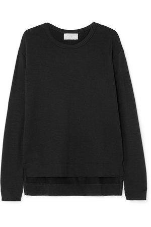 calé | Camille stretch-terry sweatshirt | NET-A-PORTER.COM