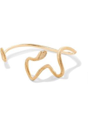 OLE LYNGGAARD COPENHAGEN | Snakes 18-karat gold diamond bracelet | NET-A-PORTER.COM