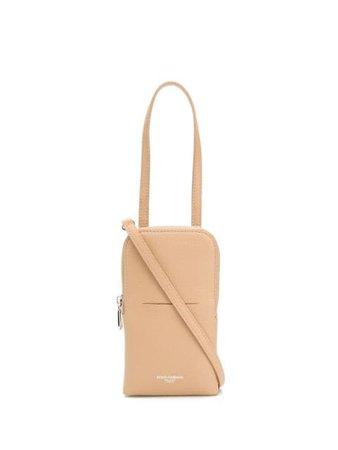 Dolce & Gabbana logo-stamped crossbody bag - FARFETCH