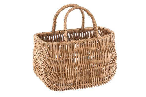 FONOTT willow wicker basket bag