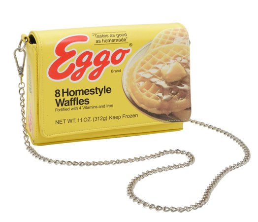 Stranger things Eggo purse