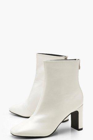 Low Heel Ankle Shoe Boots | Boohoo