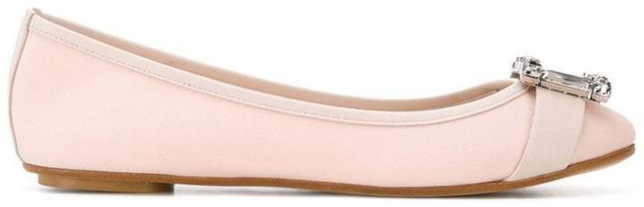 Annette ballerina pumps