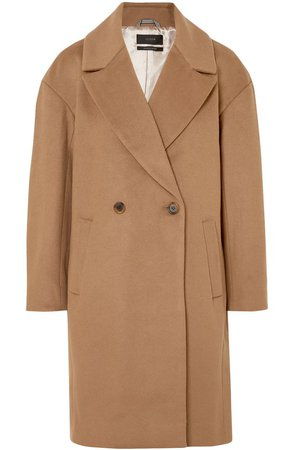 Double-breasted wool-blend felt coat | J.CREW | Sale up to 70% off | THE OUTNET