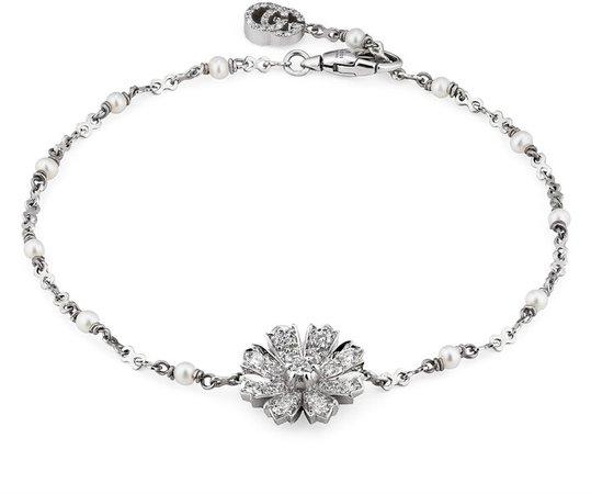 Flora Flower Pendant Bracelet