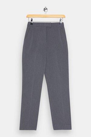 Gray Cigarette Pants   Topshop