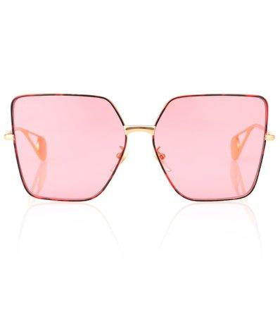 Square Metal Sunglasses | Gucci
