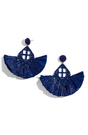 BaubleBar Sahari Fringe Drop Earrings | Nordstrom