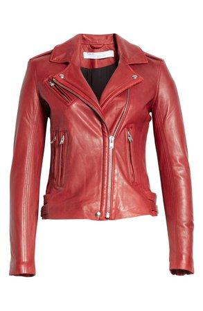 IRO Leather Moto Jacket   Nordstrom