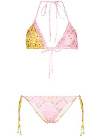 LoveShackFancy Harbour two-piece Bikini - Farfetch