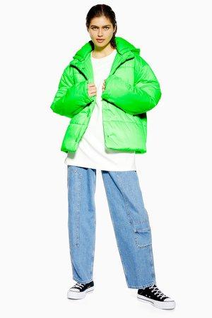 Nylon Padded Puffer Jacket