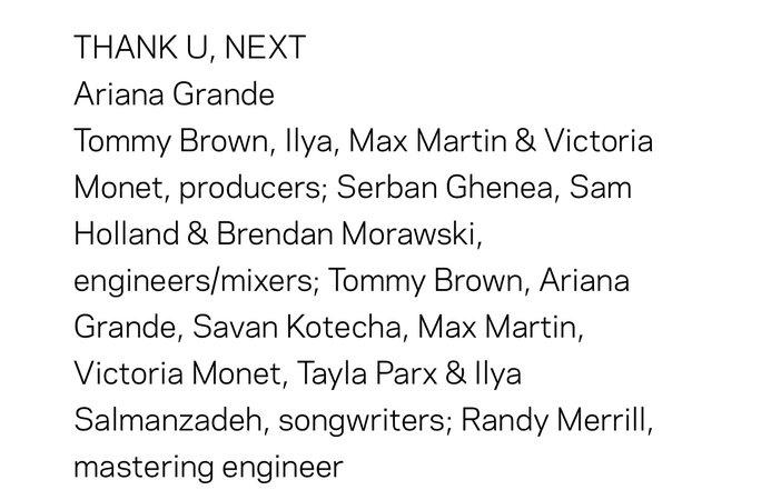 Ariana Grande Text