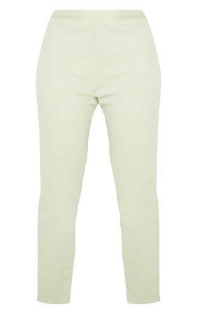 Sage Straight Leg Trouser | Co-Ords | PrettyLittleThing USA