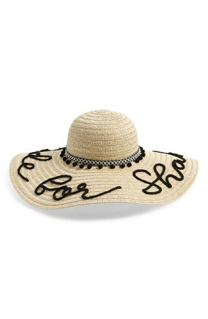 Shiraleah Made for Shade Wide Brim Straw Hat | Nordstrom