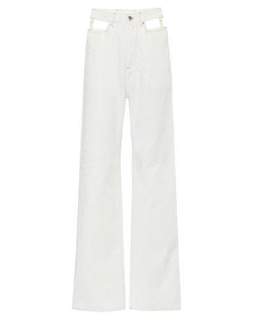 High-Rise Wide-Leg Jeans | Maison Margiela - mytheresa