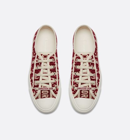 Walk'n'Dior Sneaker in Oblique embroidered canvas - Shoes - Women's Fashion | DIOR
