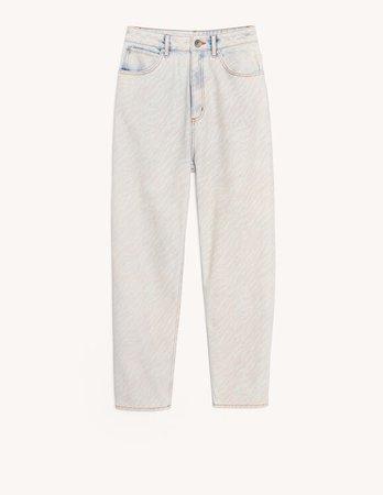 Zebra pattern jeans - Jeans   Sandro Paris