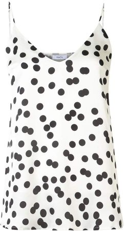 spotted cami top