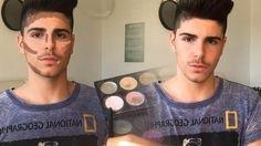 Male makeup - natural contour [Man's ׳no makeup׳ makeup]   Male makeup, Natural makeup, Contour makeup